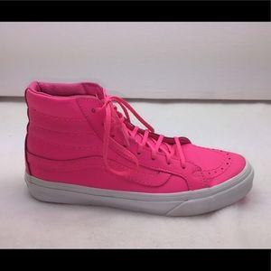Vans Hot Pink High Tops